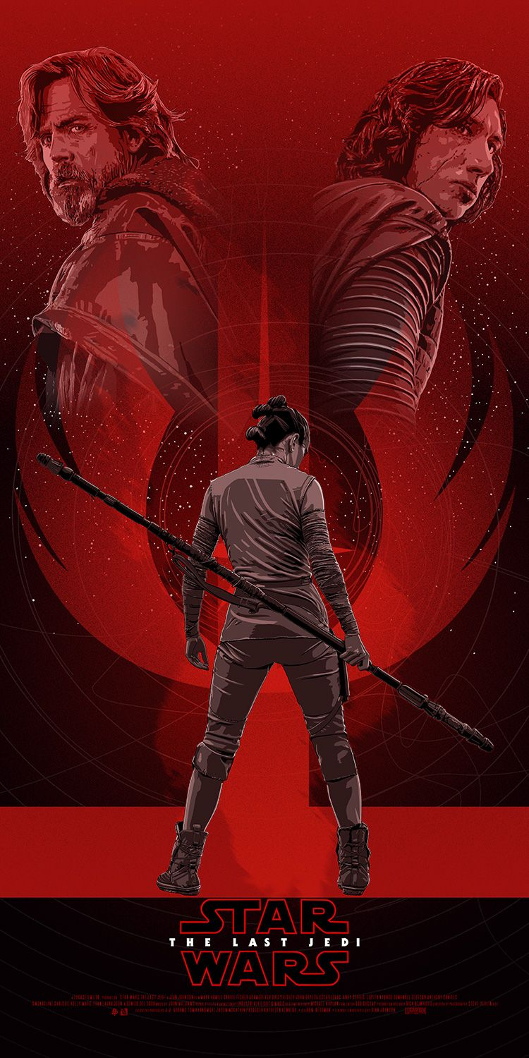 Cool Collection Of Poster Art Celebrates Star Wars The Last Jedi