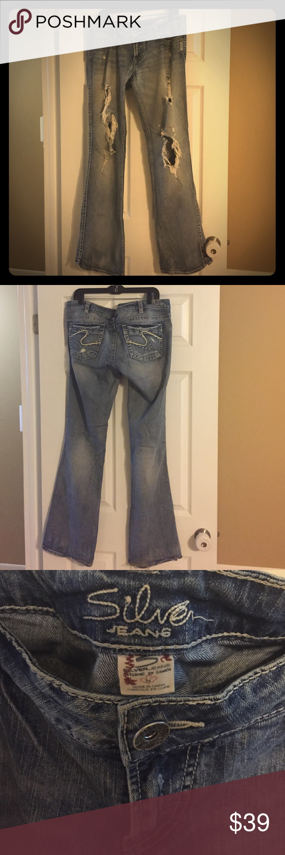 Silver Jeans Francis boot cut | D, Fun and Old faithful