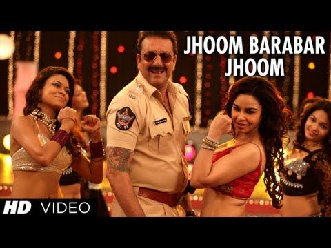Policegiri Jhoom Barabar Jhoom Video Song Sanjay Dutt Prachi Desai Bollywood Movie Songs Songs Movie Songs
