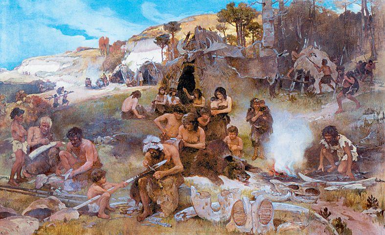 Prehistoric Camp - Ivan Izhakevich