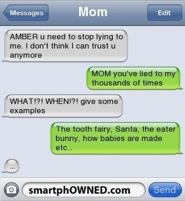 Latest Funny Texts Top 23 funny texts from parents Top 23 funny texts from parents – 10 So Peachy 6
