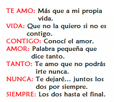 Versos De Amor Para El Dia De San Valentin Para Mi Esposo