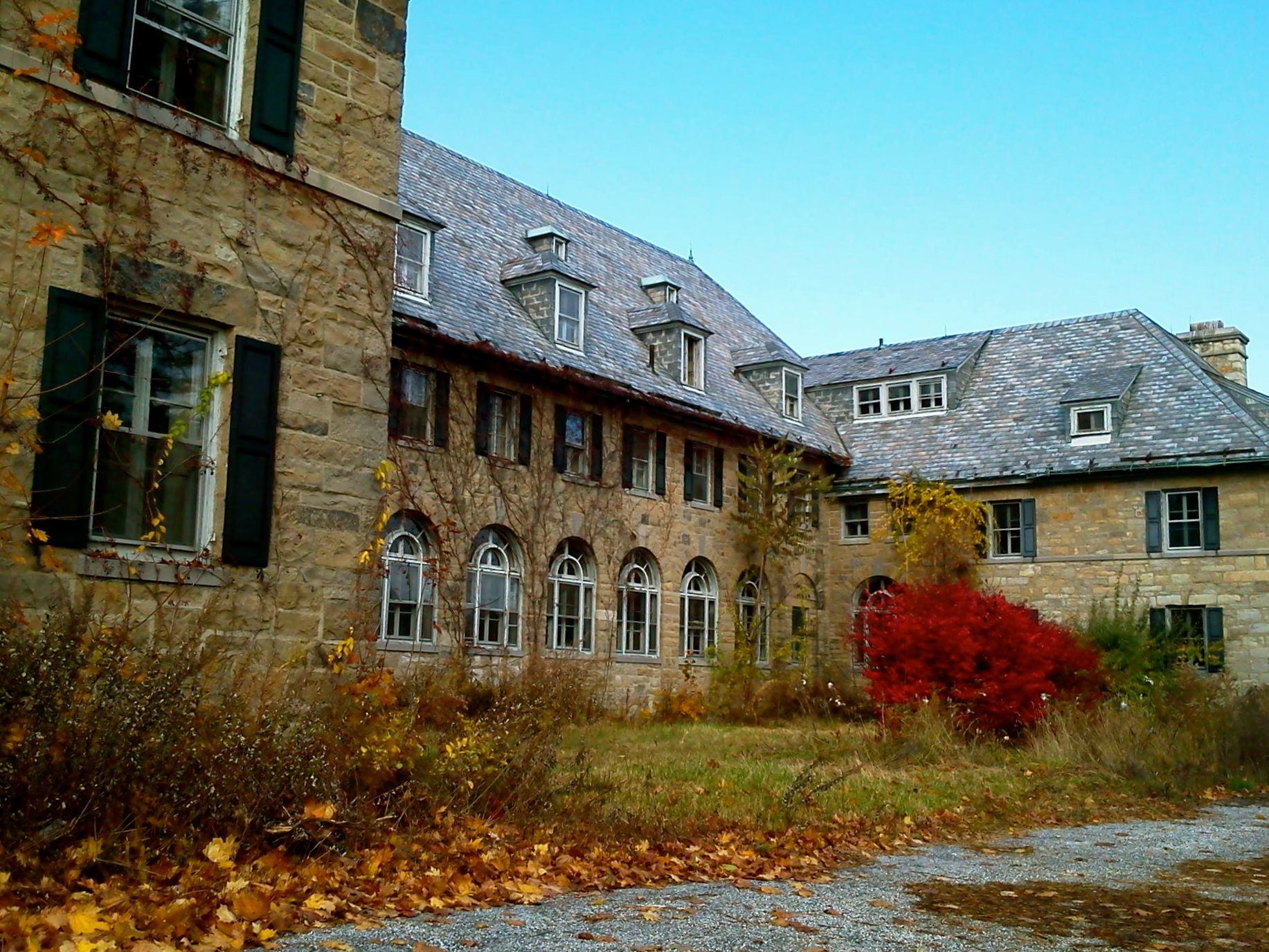st. paul's abbey in andover, nj (sussex county) | creepy cool haunts