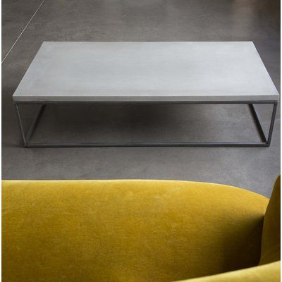 Lyon Beton Perspective Coffee Table Products Concrete