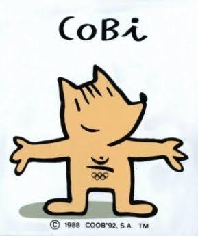 Juegos Olimpicos Barcelona 92 Cobi Mascotas Pinterest Olympic