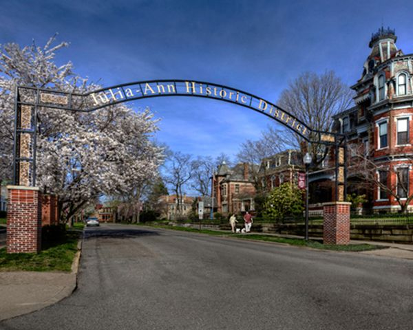 Julia Ann Square Historic District Step Into The Past With A Self Guided Walking Tour Of