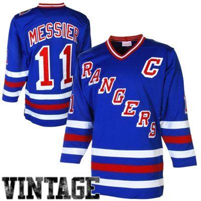 save off c9d92 a8e4d Mens New York Rangers Mark Messier Mitchell & Ness Royal ...