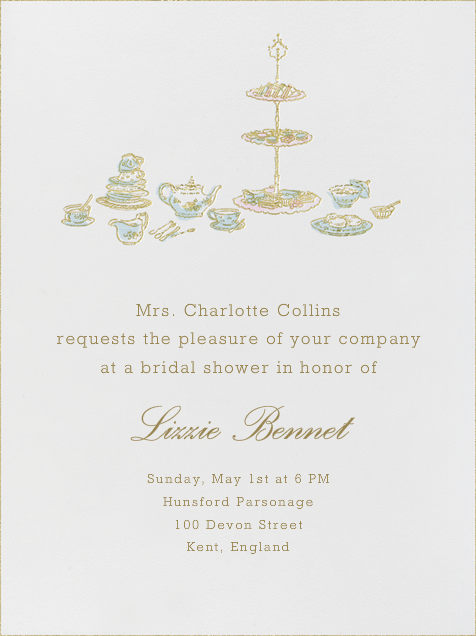 high tea by paperless post create beautiful bridal shower invitations with our easy to use design tools and rsvp tracking available online or on paper