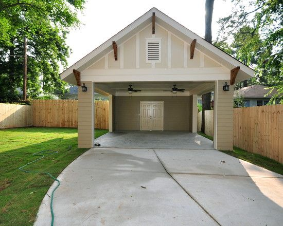 Carport with storage carport pinterest storage for Carport with storage shed plans