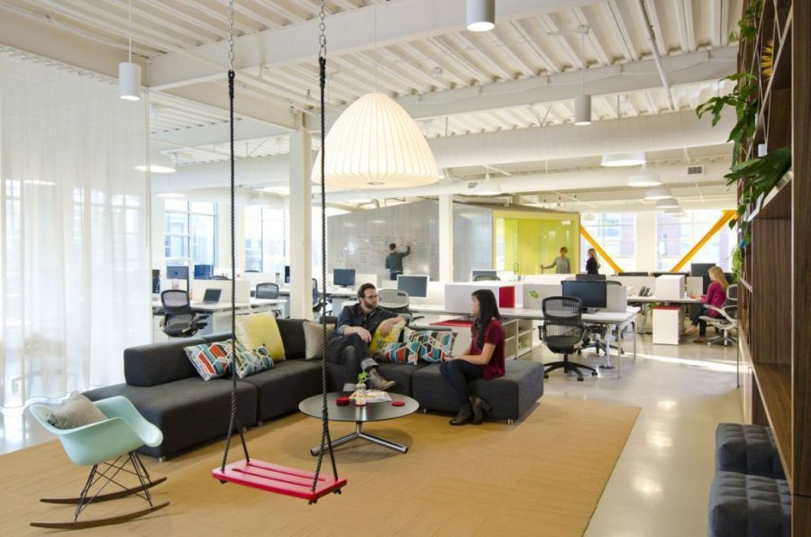 Cool Office Interiors To Casual Work Space Designed By Boora Architects Cool Office Space For Fine Design Group 999