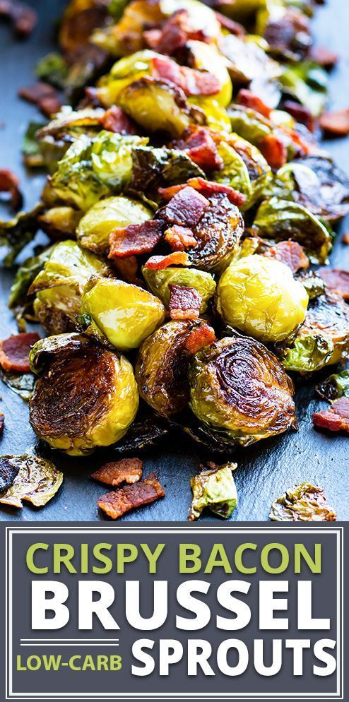 Crispy Brussel Sprouts With Bacon Recipe With Images