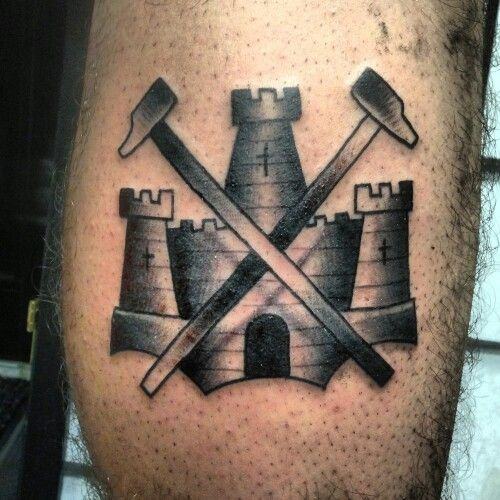 West ham tattoo  cd7a9f286