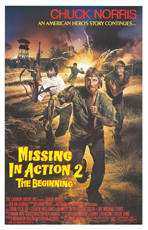 MISSING IN ACTION 2 POSTER  Movie Posters Pinterest - missing in action poster