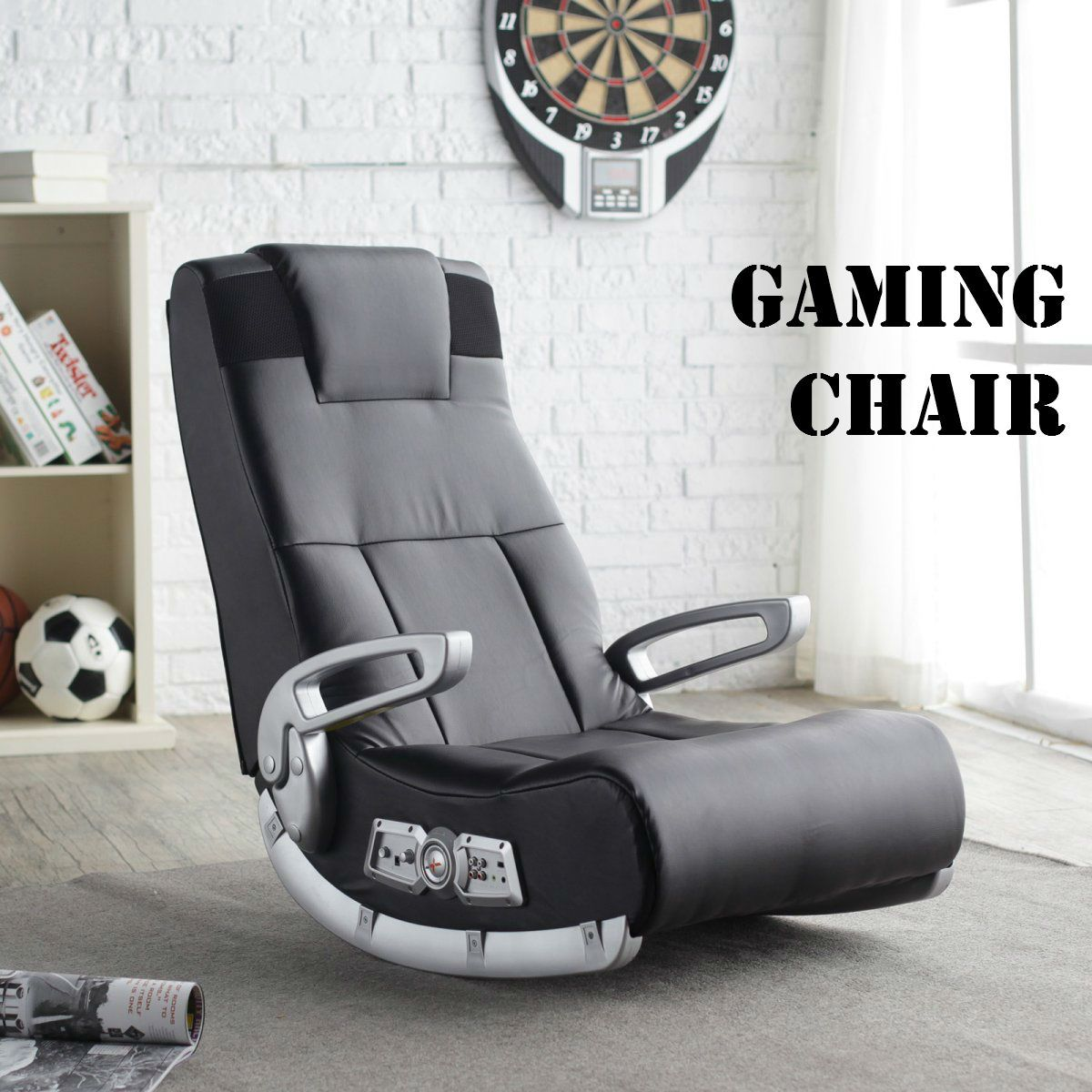 Incredible Up To 40 Off Dream Rocker Gaming Chair At Boys Stuff Caraccident5 Cool Chair Designs And Ideas Caraccident5Info