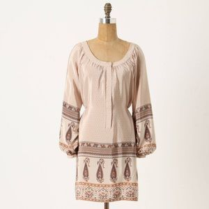 I just discovered this while shopping on Poshmark: Anthropologie Soft Borders Shift Dress size small. Check it out! Price: $34 Size: S, listed by feministfox