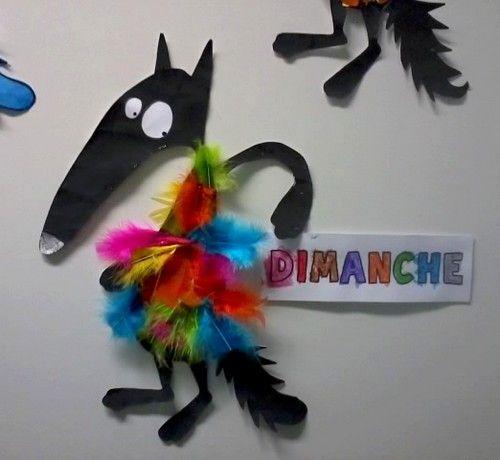 le loup multicolore le loup qui voulait changer de couleurs le loup qui voulait changer de. Black Bedroom Furniture Sets. Home Design Ideas