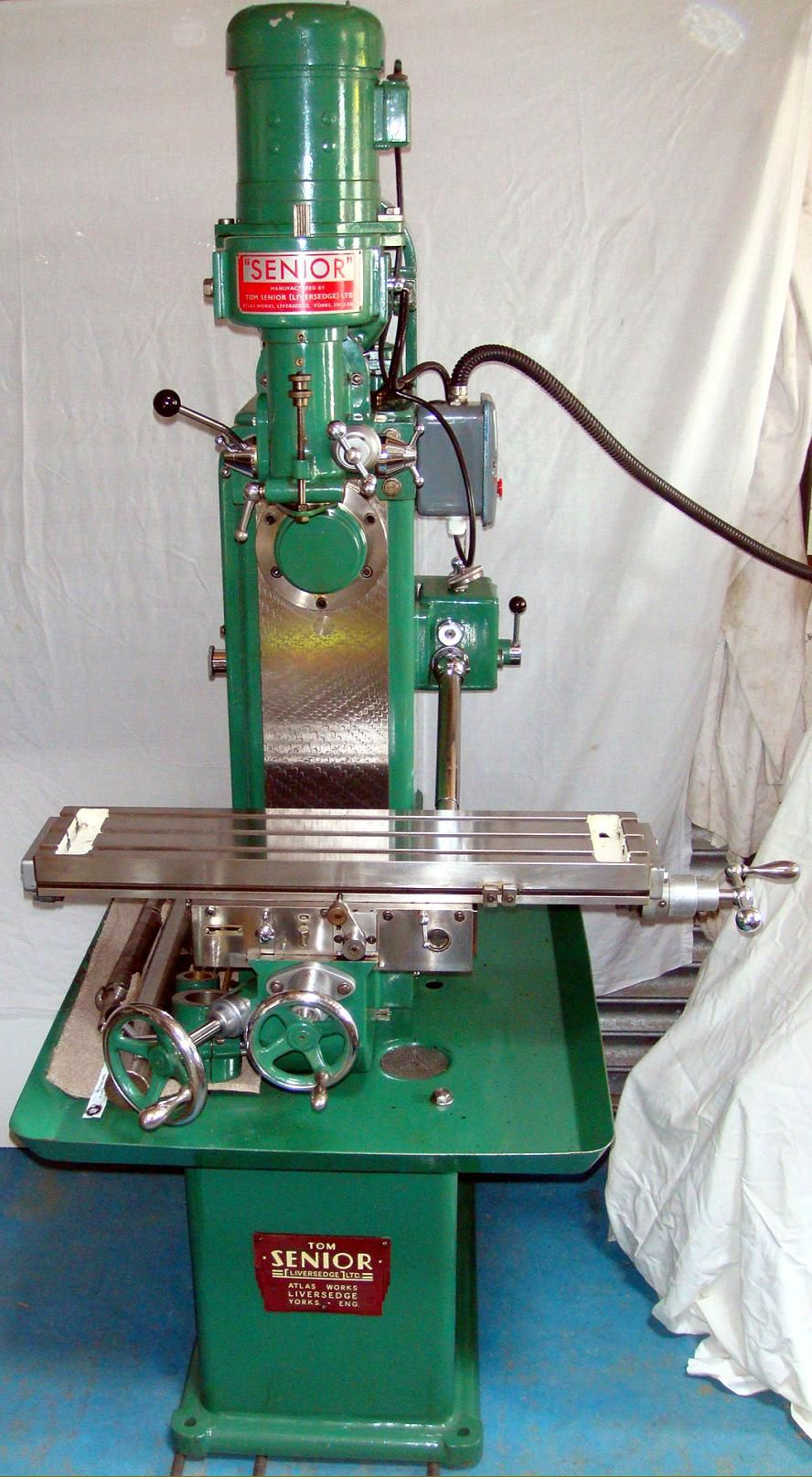 Tom Senior Milling Machine Google Search Machining