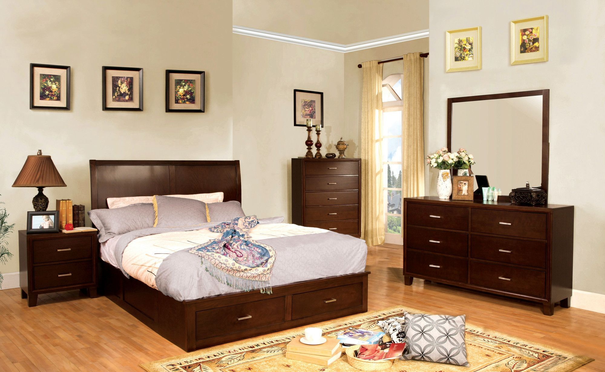 Buchan Platform Customizable Bedroom Set