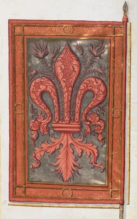 Banner Of Florence  1512