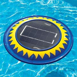 Solar Clear Pool Cleaner Floating Pool Water Cleaner