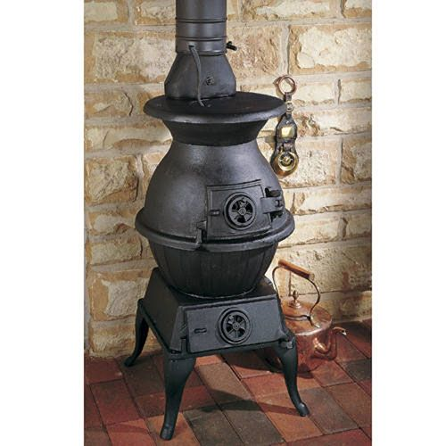 Image of Potbelly Extra Large - Cast Iron Stove. Wood Burning ... - Image Of Potbelly Extra Large - Cast Iron Stove For The Home