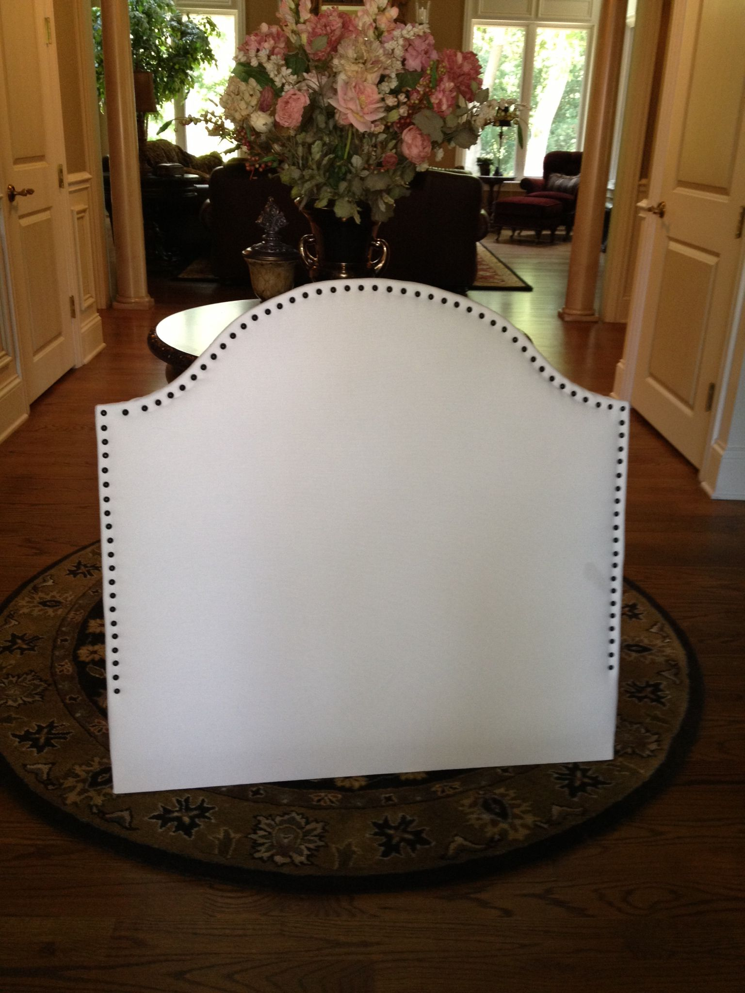 Diy Headboard For A Dorm Room How About Make It Bigger For Queen