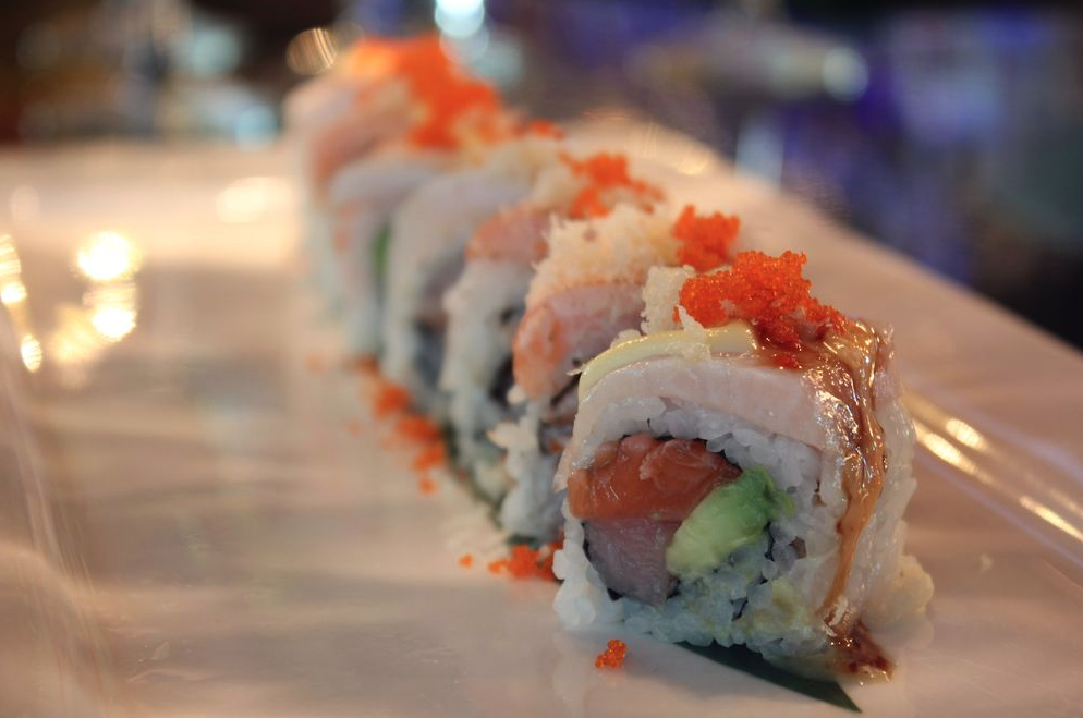 One of our many specialty rolls