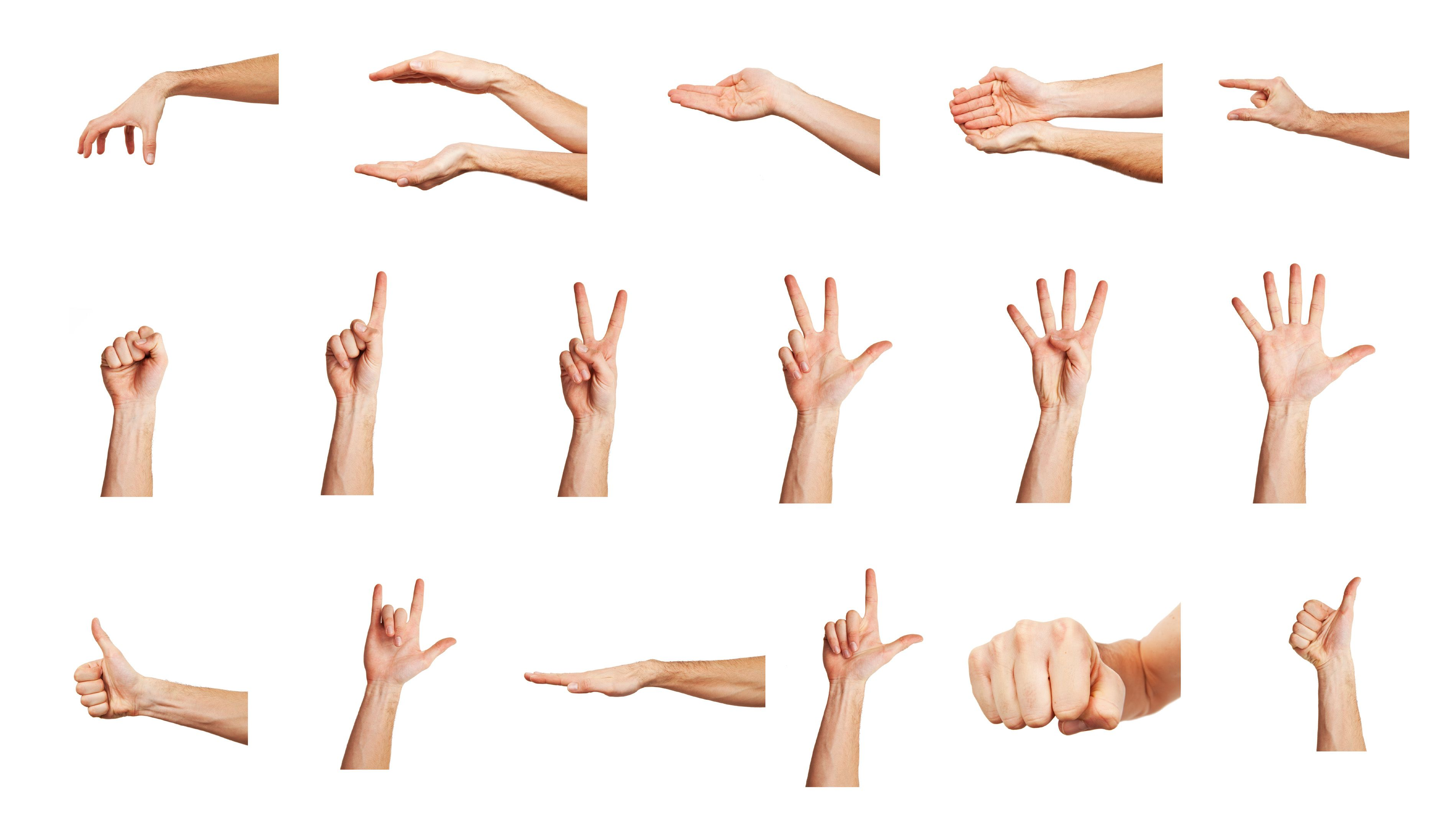 The Hand Counting Is Very Different From What We Loosely