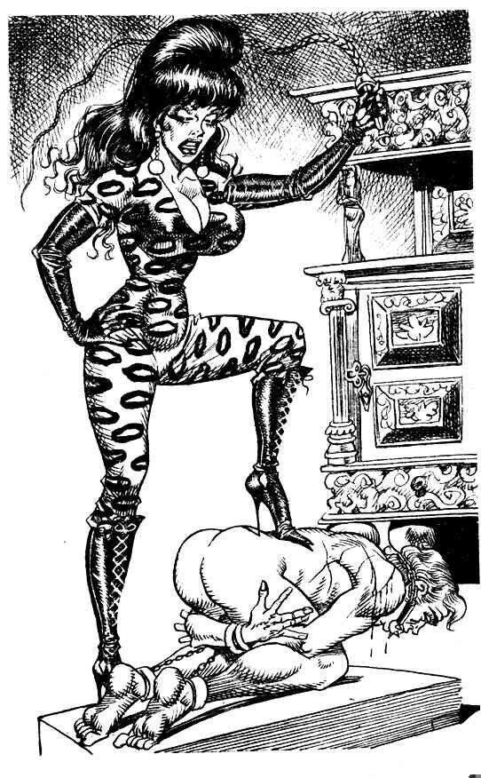 Bill Ward Bdsm Drawings 67