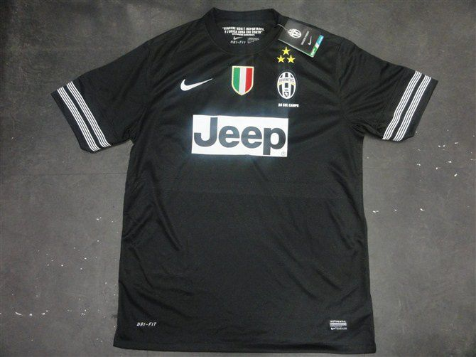 77f314bf0cb 12 13 Juventus away soccer jersey Thailand quality and wholesale price for  football jerseys.