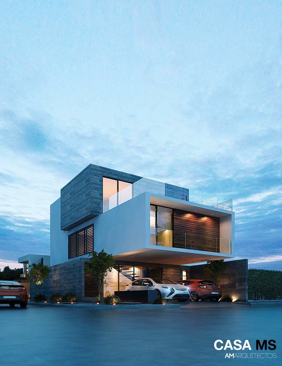 Casa ms by am arquitectos pin pinterest arquitectos - Arquitectos casas modernas ...