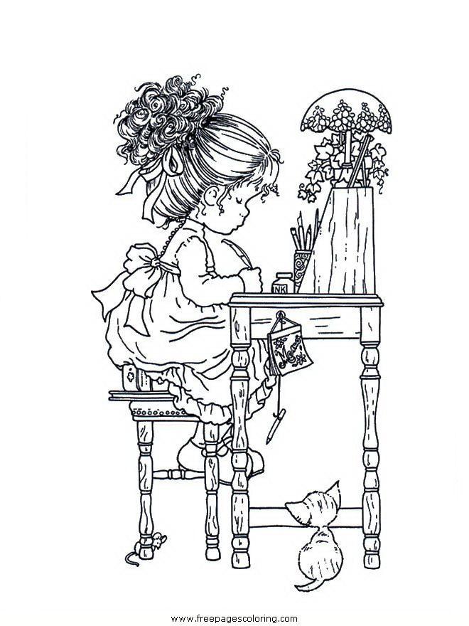 coloring pages Sarah Kay | dibujos | Pinterest | Colorear, Sarah kay ...