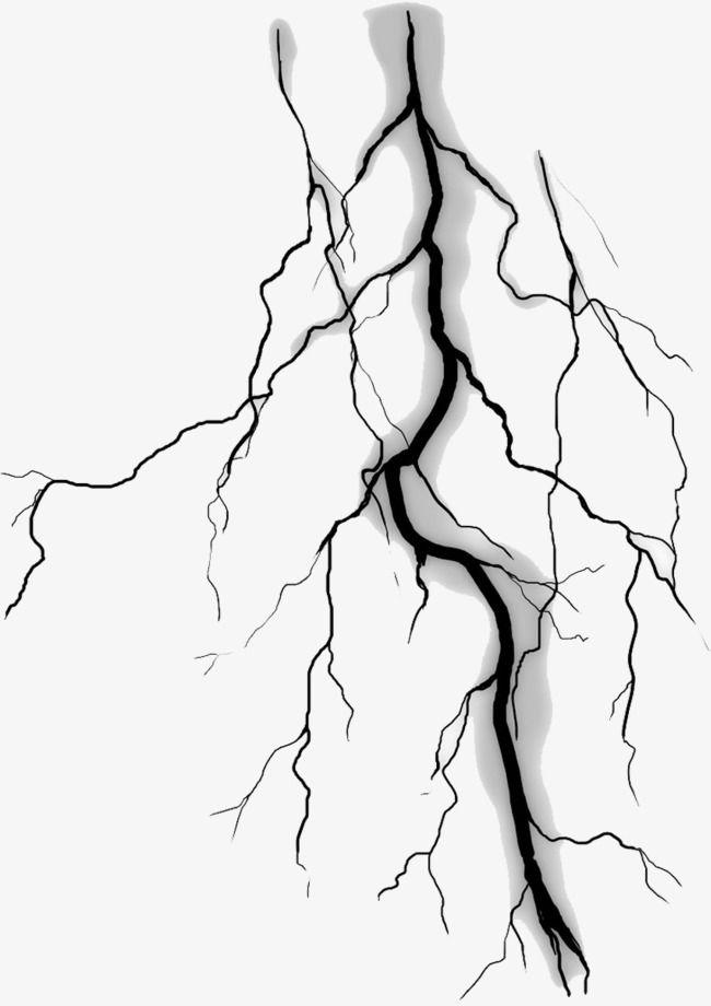 Black Lightning Material Lightning Tattoo Lightning Art Pattern Tattoo