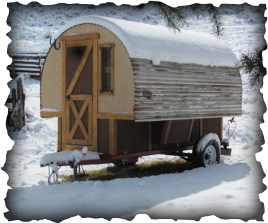 Sheep Wagon Home Tiny Houses Pinterest Sheep Gypsy wagon