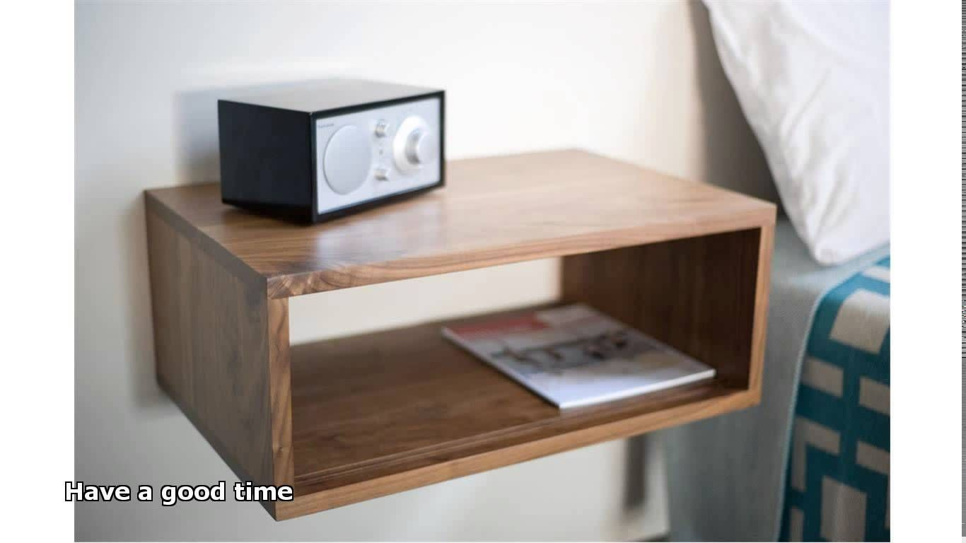 How To Make Wall Mounted Bedside Table