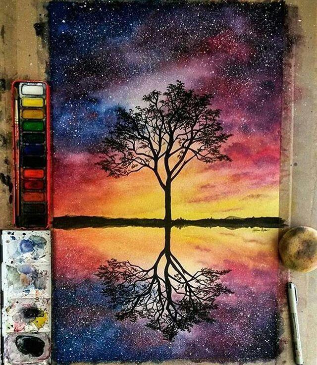 Sky Painting Reference Pinterest Simona Hasova Niesamowite