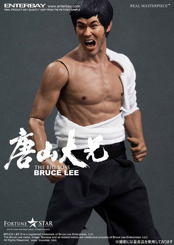 Bruce Lee – The Big Boss Real Masterpiece (Enterbay)