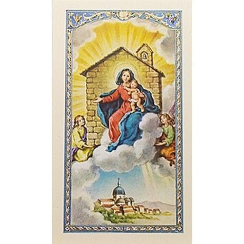 Cómo Llegó La Casa De Nazaret A Loreto Italia Arte Católico Loreto Anunciacion De La Virgen