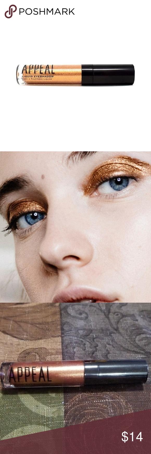 Appeal Rose Gold Liquid Eyeshadow NWT Liquid eyeshadow