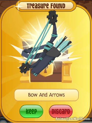 Rare Bow And Arrows Animaljam Bowandarrows Items Rares Http Www Animaljamworld Com Rare Bow Arrows Codes How To Get Animal Jam Rare Arrow