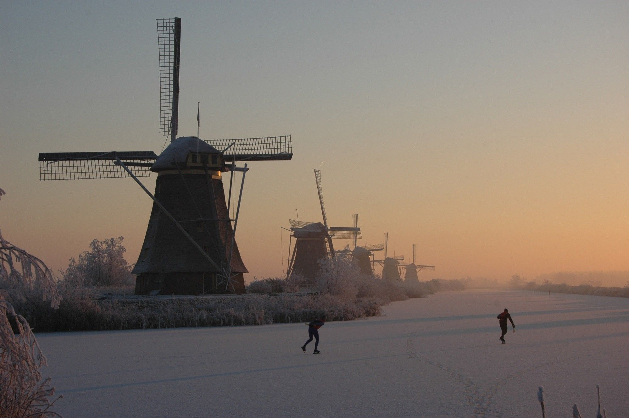 skating in the Netherlands.