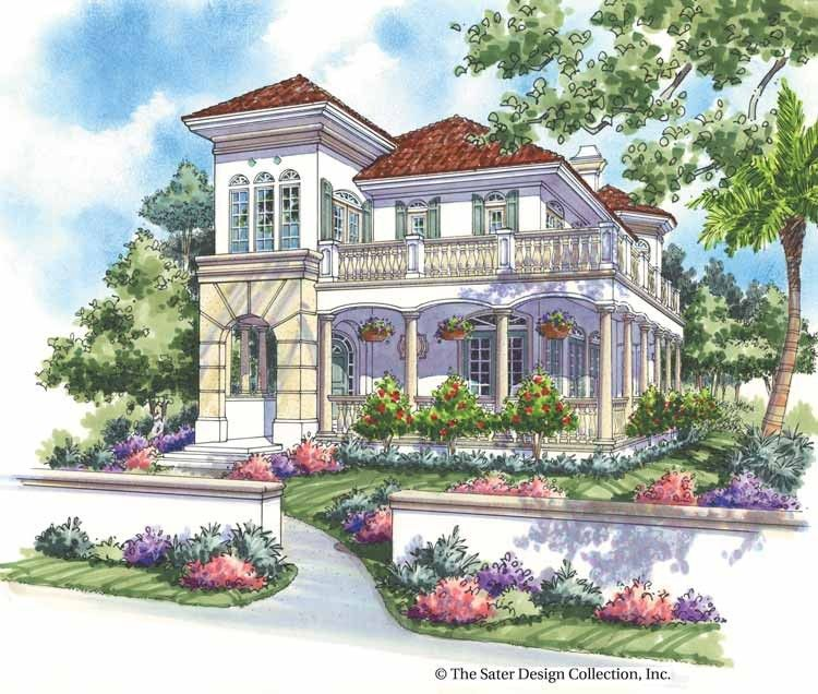 Italianate House Plan With 2650 Square Feet And 3 Bedrooms From Dream Home Source Mediterranean House Plans Mediterranean Style House Plans Spanish Style Homes