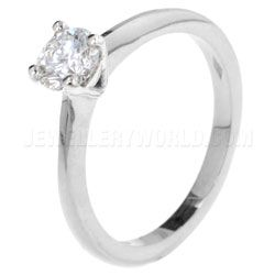 0.40ct Diamond 18ct White Gold 4 Claw Engagement Ring http://www.jewelleryworld.com/online_store/0-40ct-diamond-18ct-white-gold-4-claw-engagement-ring402271.cfm