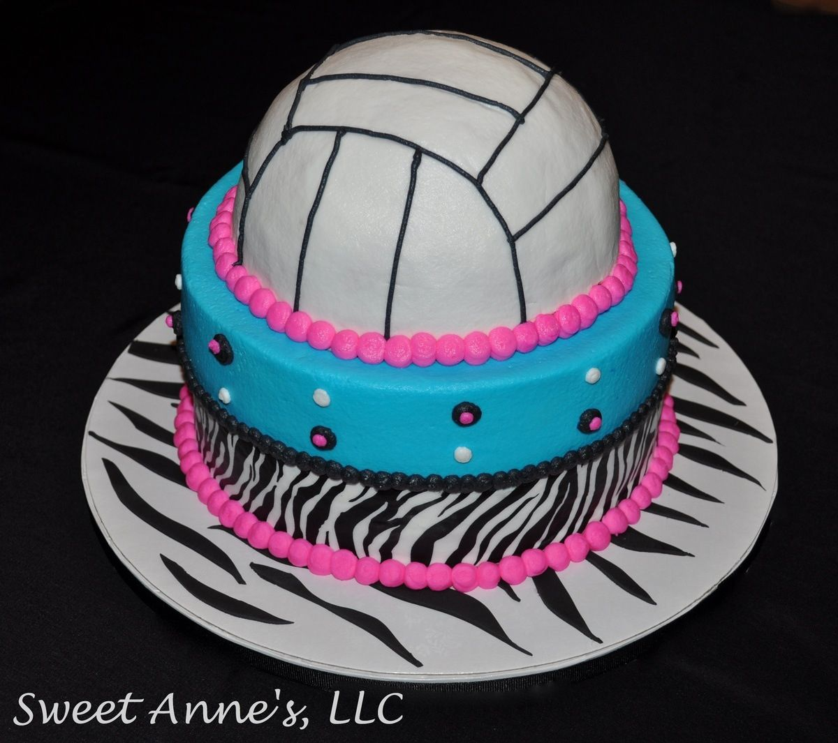 Tremendous Volleyball Cake This Is Awesome Volleyball Cakes Volleyball Personalised Birthday Cards Arneslily Jamesorg