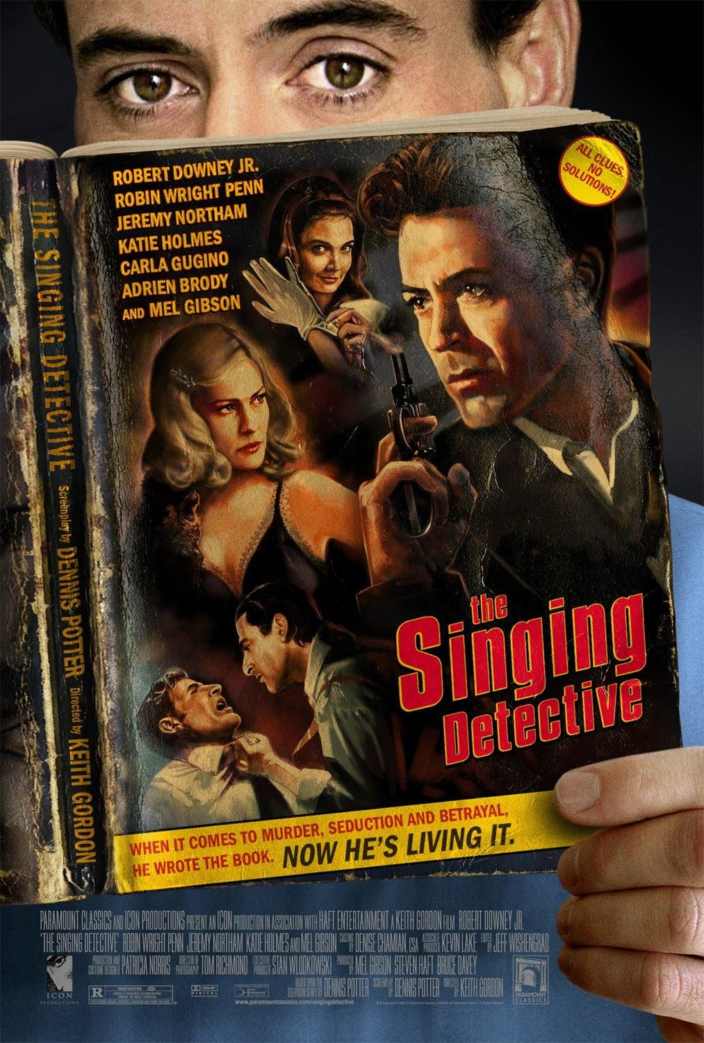 The Singing Detective Detective movies, Robert downey jr