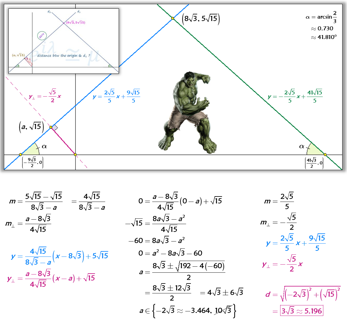 Solved Byytic Geometry And Distance Formula