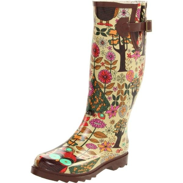 Chooka Women's Gypsy Owl Boot ❤ liked on Polyvore