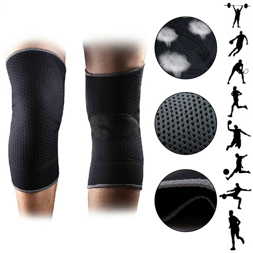 1 Piece Basketball Knee Pad Sports Leg Knee Support Brace Protector Volleyball Knee Pad Running F Basketball Knee Pads Volleyball Knee Pads Knee Support Braces