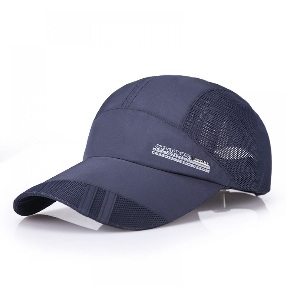 Summer Causal Baseball Cap Quick Dry Adjustable Sunscreen Breathable Peaked Cap