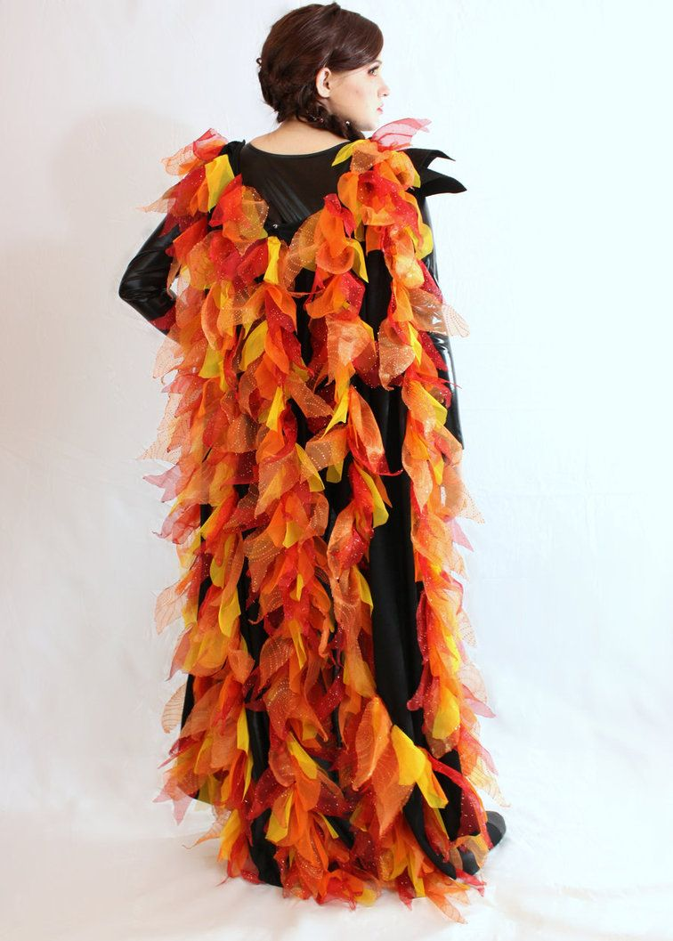 the cape for my girl on fire costume for the hunger games premier i had to cut out 500 flames for it i was totally worth it though for the reaction - Fire Girl Halloween Costume